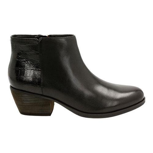 9984546597a Women's Clarks Gelata Italia Ankle Boot Black Combination Leather