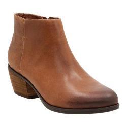 Women's Clarks Gelata Italia Ankle Boot Tan Nubuck