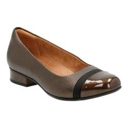 Women's Clarks Keesha Rosa Slip-On Gold Metallic Leather