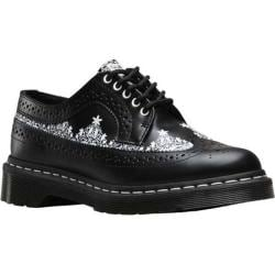 Women's Dr. Martens 3989 Lace Wingtip Shoe Black Smooth