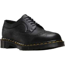 Dr. Martens 3989 Pebble Brogue Shoe Black Pebble