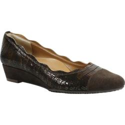Women's J. Renee Fedosia Slip On Shoe Chocolate Leather