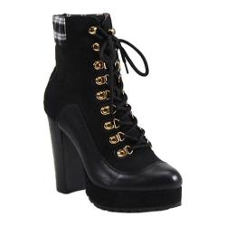 Women's Luichiny Bright Idea Bootie Black Imi Leather/Suede