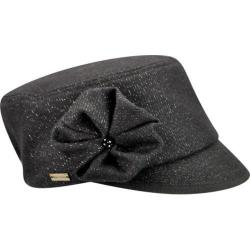 Women's Betmar Cameron Military Cap Black