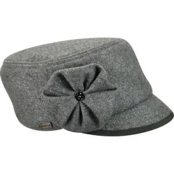 Women's Betmar Cameron Military Cap Heather Grey