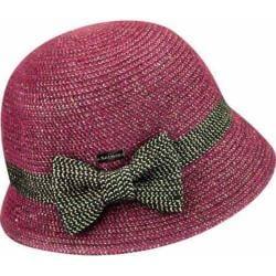 Women's Betmar Lorelai Bucket Hat Berry Metallic