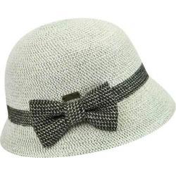 Women's Betmar Lorelai Bucket Hat Winter White Metallic