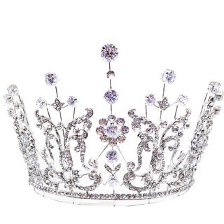 Kate Marie Loveney Rhinestone Tiara
