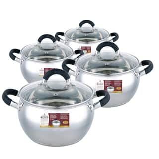Wee' s Beyond Stainless Steel Apple-shape Sauce Pot Set (Set of 8)|https://ak1.ostkcdn.com/images/products/12701006/P19483673.jpg?impolicy=medium