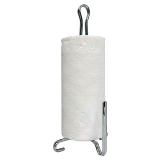 Silver Metal Paper Towel Holder
