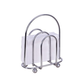 Silver Double-sided Napkin Stand