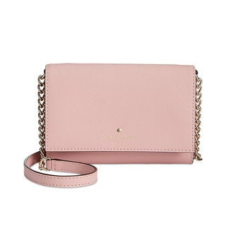 Kate Spade New York Cedar Street Cami Pink Bonnet Leather Convertible Cross-body Bag