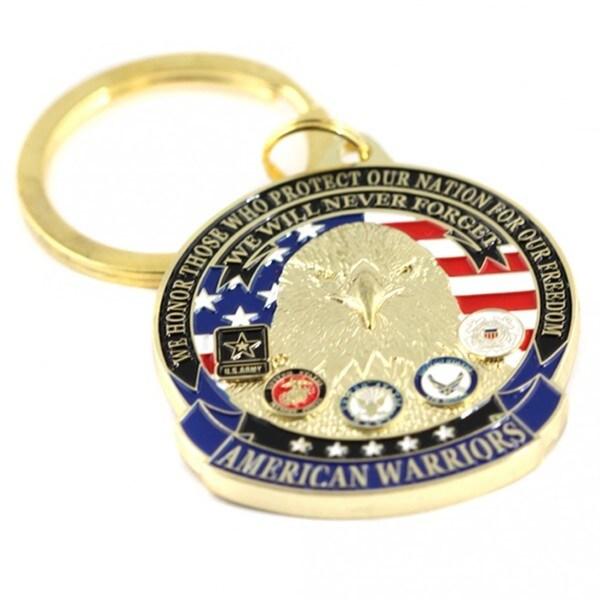 American Warriors Key Ring