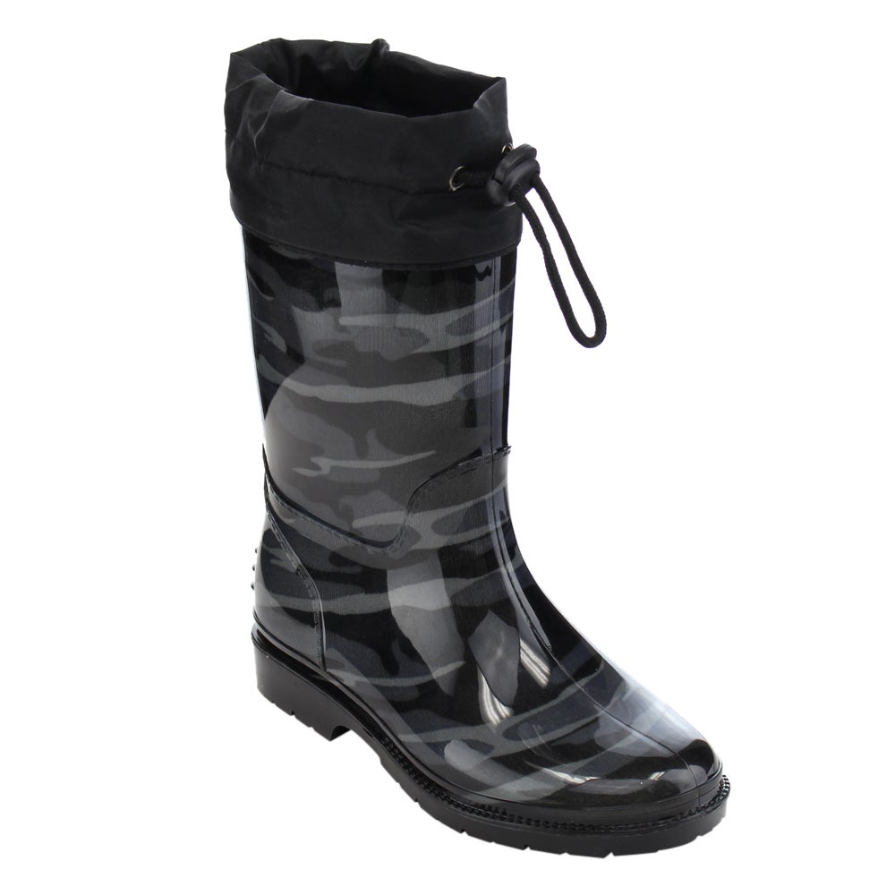 Jelly Beans GE88 Unisex Black Rubber Camouflage Bungee Mi...