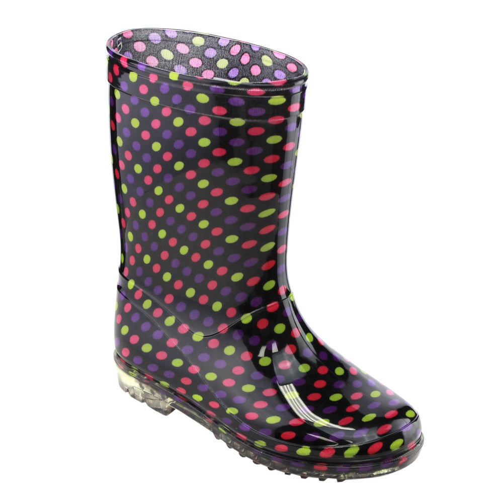 Jelly Beans Girls' GE60 Multicolored PVC Mid-calf Design ...