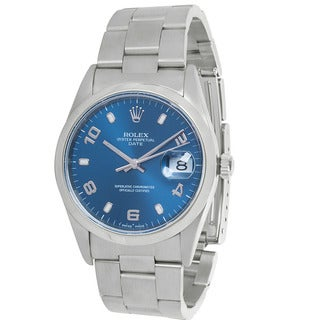 Pre-Owned Rolex Date 15200 Mens Watch in Stainless Steel