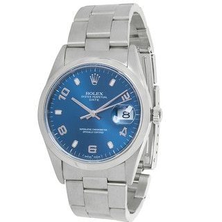 Pre-Owned Rolex Date 15200 Men's Watch in Stainless Steel