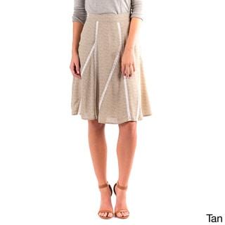 DownEast Basics Women's Invitation Only Floral Skirt