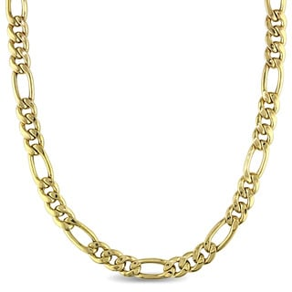 Multi-Size Linked Chain Necklace in 10k Yellow Gold by The Miadora Signature Collection