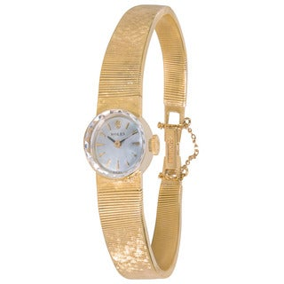Pre-Owned Rolex Dress 1401 Ladies Watch in 14K Yellow Gold