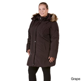 Provence Plus-size Polyester Down Coat