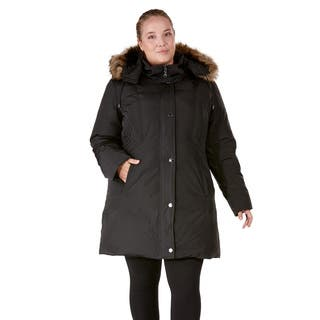 Provence Plus-size Polyester Down Coat|https://ak1.ostkcdn.com/images/products/12704438/P19486521.jpg?impolicy=medium
