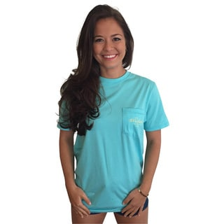 Birds of a Feather Teal Short-sleeve Pocket T-shirt