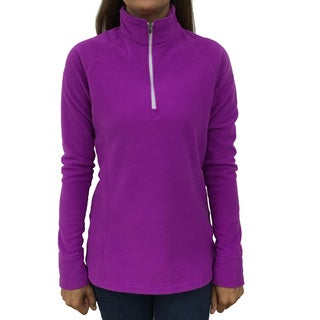 Narragansett Traders Women's Orchid Polyester Fleece 1/4-zip Lightweight Pullover