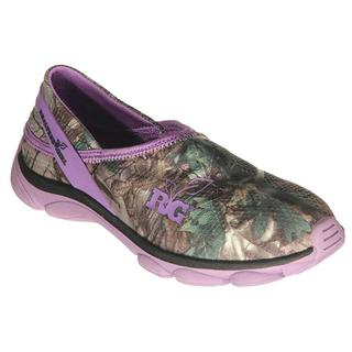 Realtree Outfitters Women's Lola Purple/Green Camo Synthetic Slip-on Shoes