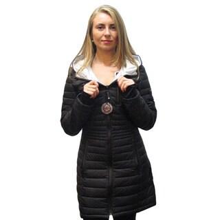 Halifax Women's Black Down Packable Coat
