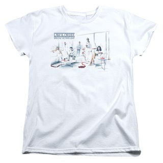Law & Order SVU/Dominos Short Sleeve Women's Tee in White