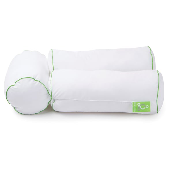 Sleep Yoga Multi-Position Body Pillow - White