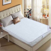Innerspring Folding California King-size Mattress - White