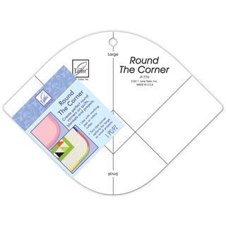 June Tailor Round the Corner Crafting Template Small and Large Curved Shape