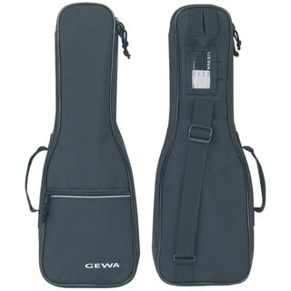 Gewa Black Cordura Waterproof Concert Ukulele Gig Bag