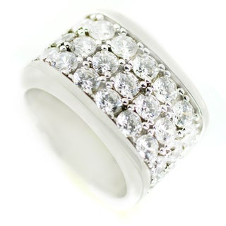 One-of-a-kind Michael Valitutti Cubic Zirconia Pave Cocktail Ring