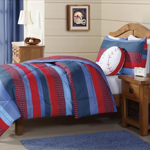 Laura Hart Kids Sebastian Stripe 3-piece Comforter Set