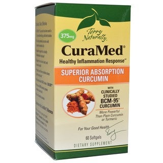 Terry Naturally CuraMed 375mg (60 Softgels)