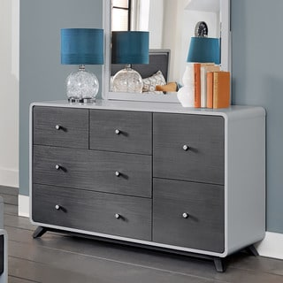 East End Grey 6-drawer Dresser