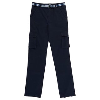French Toast Boys' Cotton and Polyester Cargo Pants