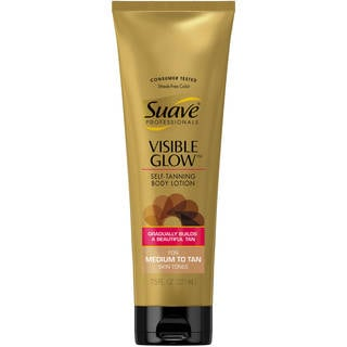 Suave Visible Glow Self-tanning 7.5-ounce Body Lotion