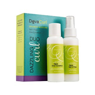 DevaCurl Dazzling 3-ounce Curl Duo Maximum Hydration & Moisture Control