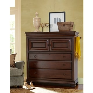 Cherry Wood 3-Drawer Chest