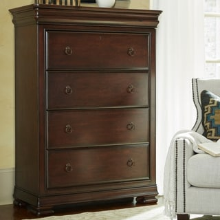 Rustic Cherry 4-drawer Chest