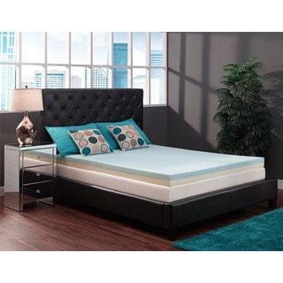 DHP Signature Sleep RenewFoam 4-inch Full-Size Gel Memory Foam Topper