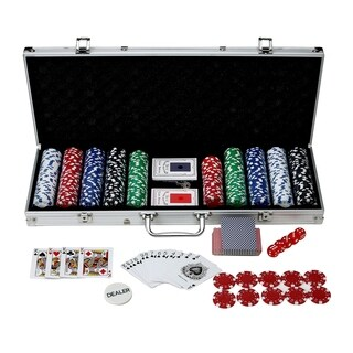Hathaway Monte Carlo Poker Set (500 Pieces)