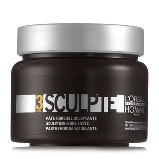 L'Oreal Professionnel Homme Force 3 Sculpte 5-ounce Sculpting Fibre Paste