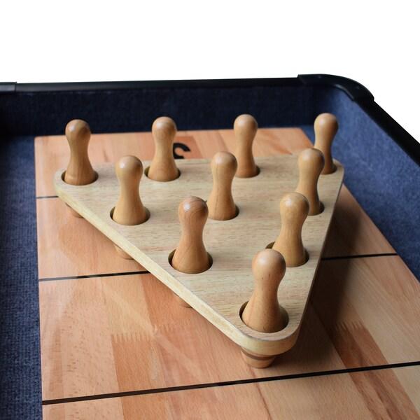 Hathaway Wood Shuffleboard Bowling Pin Set