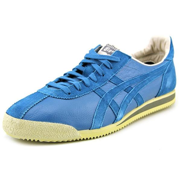 new style 0fd9a 00bab Onitsuka Tiger by Asics Men's Tiger Corsair Vin Blue Leather Athletic Shoe