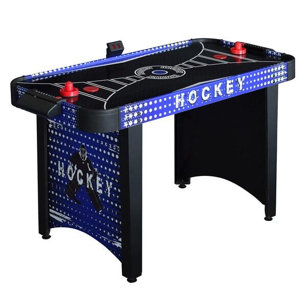 Hathaway Predator Black MDF 4-foot Air Hockey Table